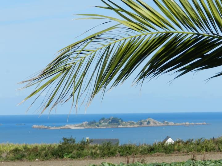 Gîte avec vue panoramique sur la baie de PAIMPOL