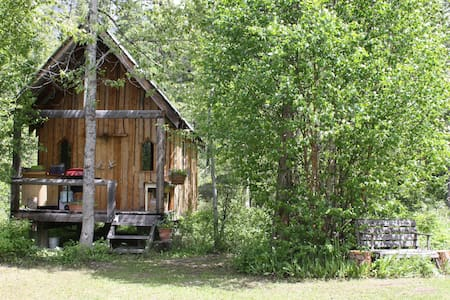 Buffalo Ranch ~ Sauna Cabin on the Creek