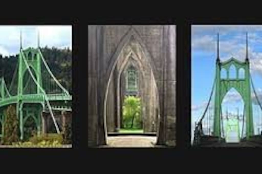 St. Johns Bridge is a Portland icon.