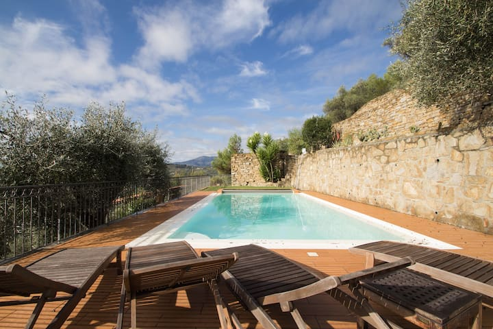Country house villa with swimming - Dolceacqua