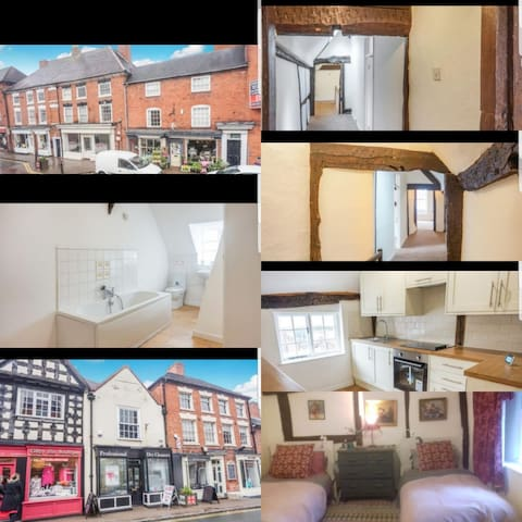 Large, stylish 14th Century flat, 3 miles from NEC