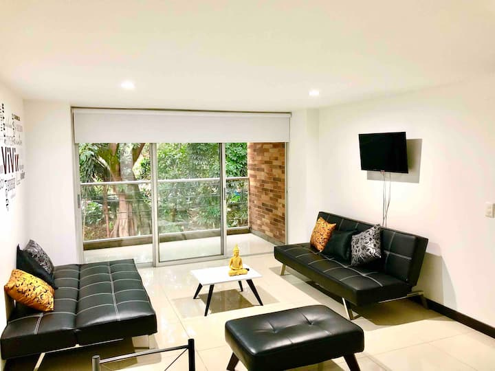 Apartamento moderno 5 STAR Laureles - Malibu II1