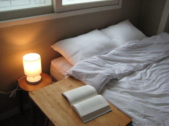 弘大&延南洞-舒适舒适的床位