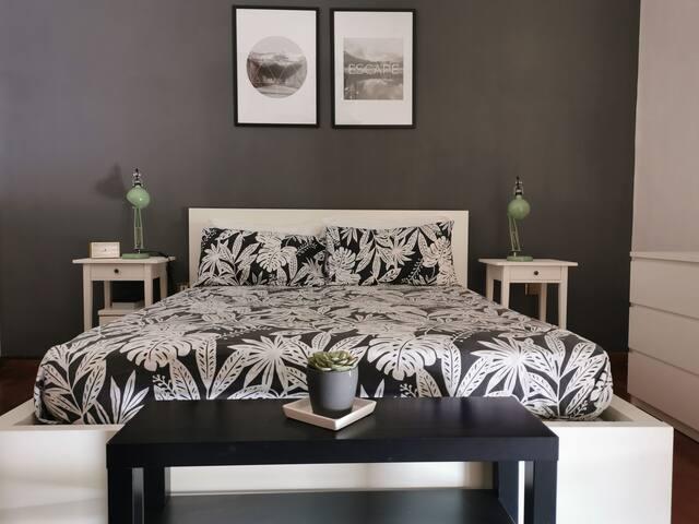 Accogliente camera da letto