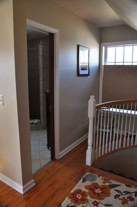 pocket doors & cool use of space