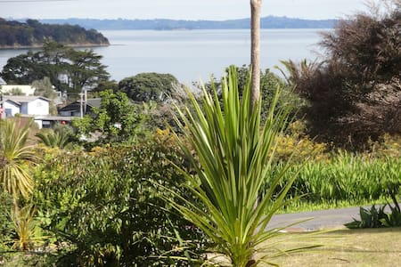 Sea views in Surfdale, Waiheke Island, New Zealand - Auckland