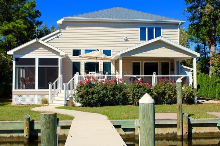 Endless Summer- waterfront home in Ocean Pines, MD - Ocean Pines - House