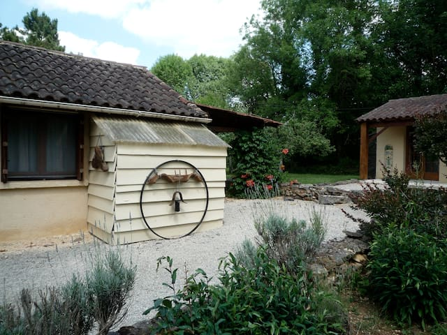 Chalet en Forêt - Loubejac - Casa