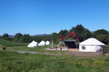 Camping (Tipi 1, up to 2 persons) - Tent