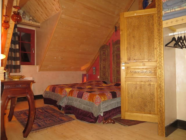 La chambre Marrakech