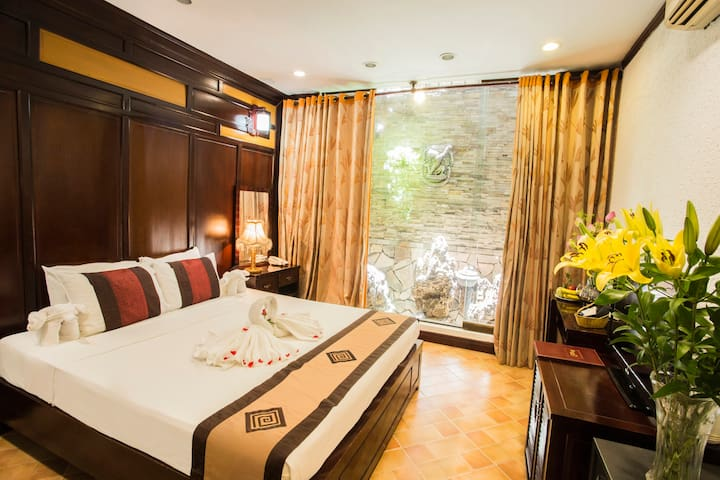 Cozy room in Central Of Old Quarter - Hàng Trống - Boutique-hotelli