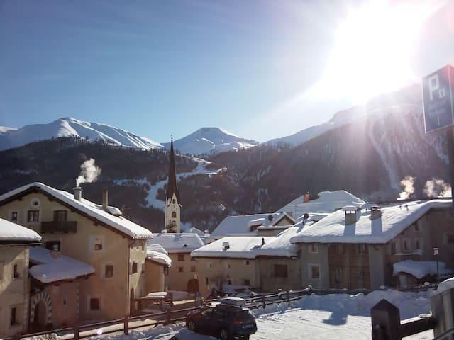 Holiday in the lovely Engadin 2 - Zuoz - 公寓