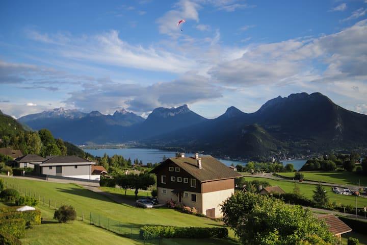 Appartement à Talloires - vue lac et montagne