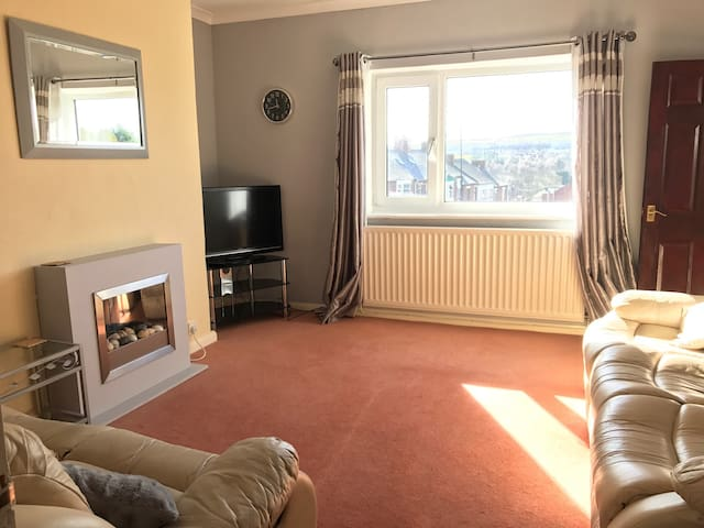 Welcoming 2 bed house - Durham - Ushaw Moor - Maison