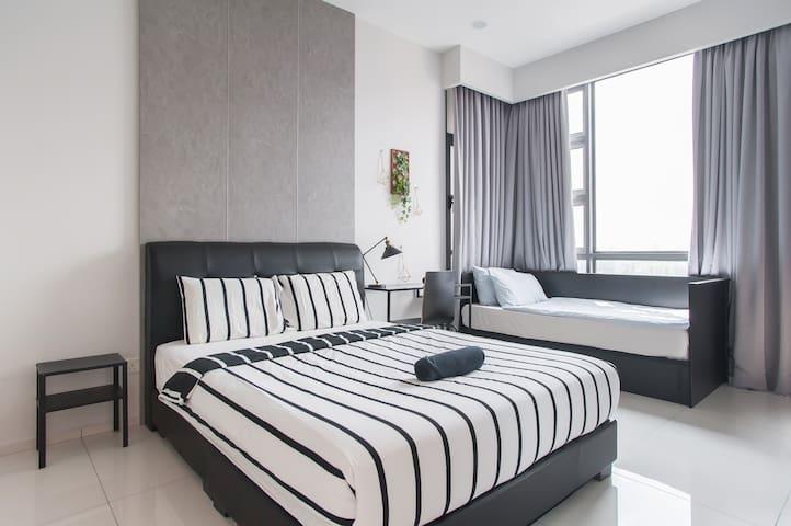 5min to Jln Alor,Bukit Bintang-KLCity@Classic Home