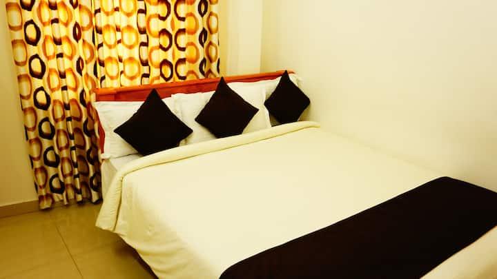 Double Budget Room at Thayamkerys Royal Inn Market Road Edappally Kochi Kerala