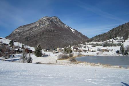 Eco gite du Lac, Savoie, alt.900 m - La Thuile - Apartment