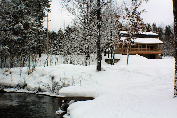 Secluded Kalkaska Home on the Boardman River - Kalkaska - Dom