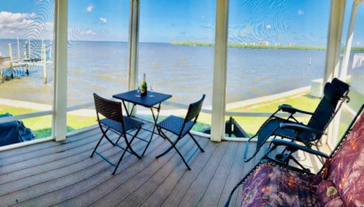 Nettles Island waterfront 1 bdrm+ loft