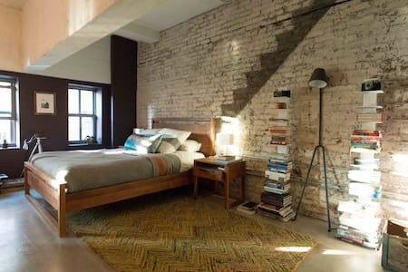 Exposed-Brick Loft in the Strip - Pittsburgh
