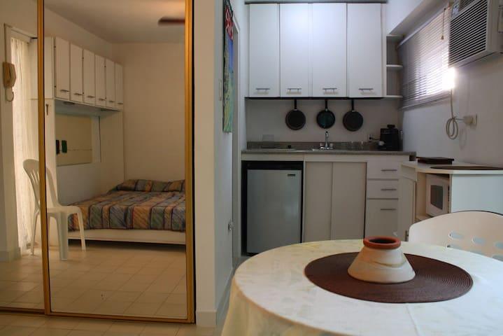 Closet and Kitchen