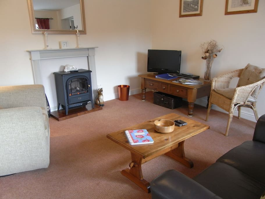 Lovely, cosy lounge