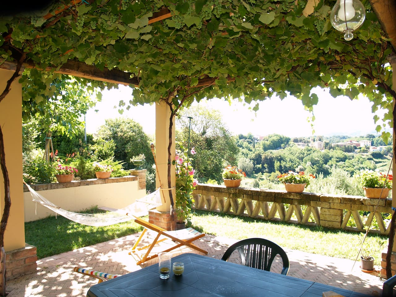 De la terrasse / From the terrasse