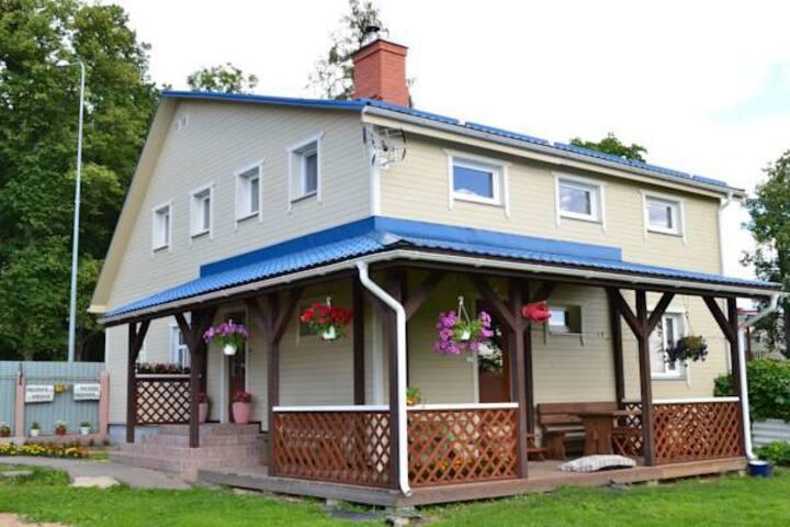 Уютный гостевой дом Avenkrasti