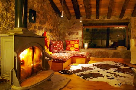 Charming huts in North of Spain 7px - San Roque de Riomiera - Kulübe