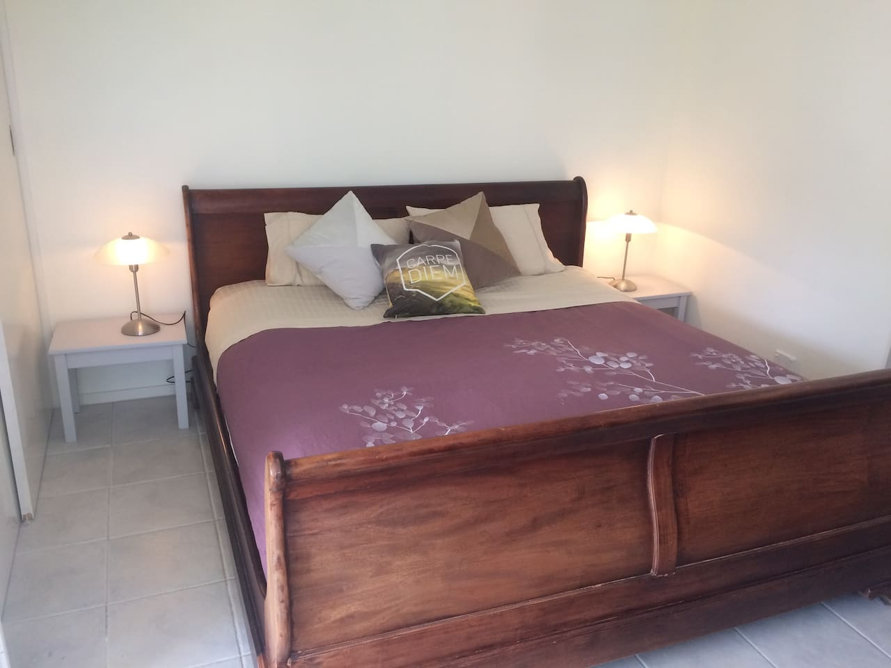 TH eking size bed has proved to be comfortable and popular with guests.