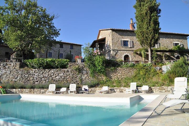 Lovely Villa Sansepolcro- Arezzo - Sansepolcro - วิลล่า