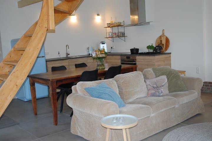 luxe huis met prachtig uitzicht en veel rust