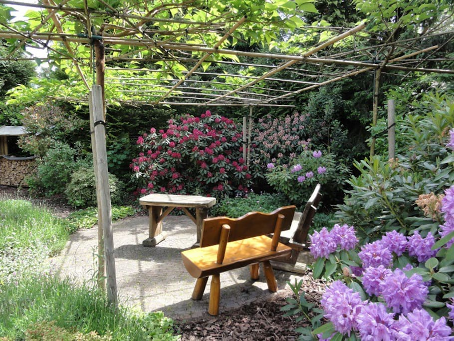 tuin met veel privacy