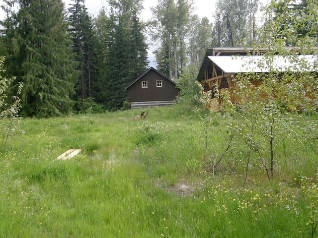 Ptarmigan Hills Wilderness Cabin - Chase - Bed & Breakfast