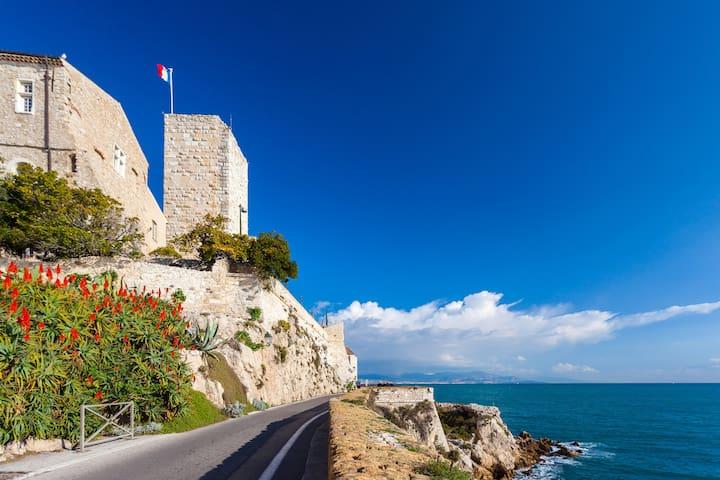 Chambre Antibes villa proche mer - Antibes - Villa