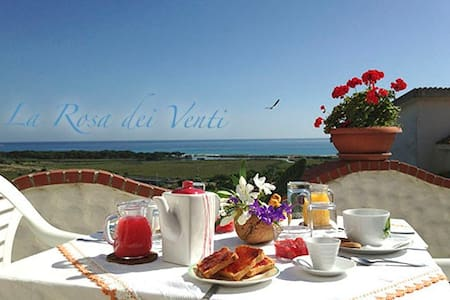 Bed &Breakfast  La Rosa dei Venti - La Caletta - Bed & Breakfast