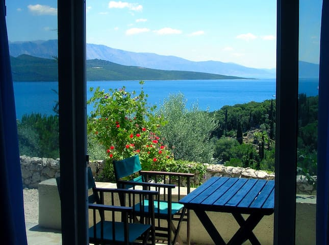 Flat in Villa del Art with sea view - Lefkas
