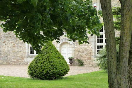 Maison de famille - 8 personnes - Piscine - La Chaussée