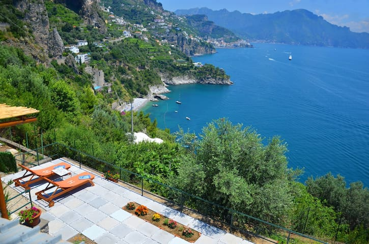 Home in the heart of Amalfi Coast - Houses for Rent in Conca dei ...