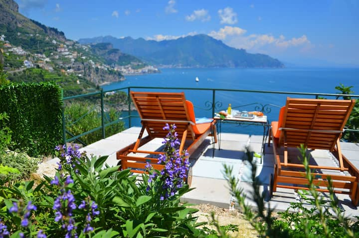 Home in the heart of Amalfi Coast