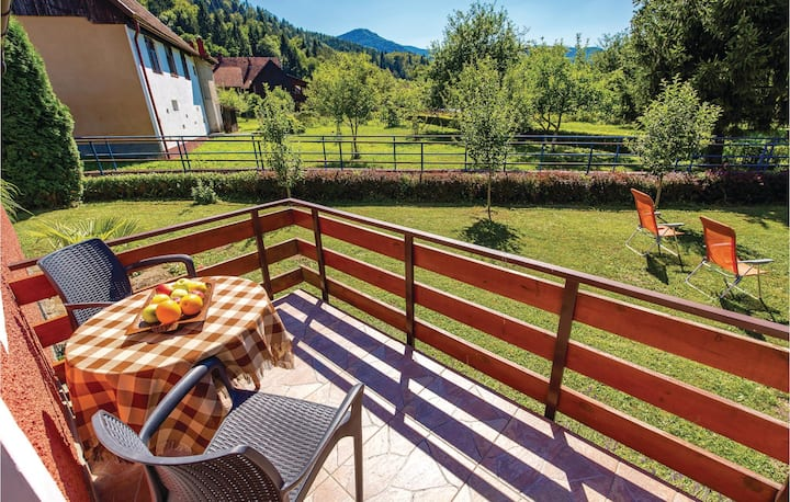 Nice home in Gorski Kotar with WiFi and 3 Bedrooms