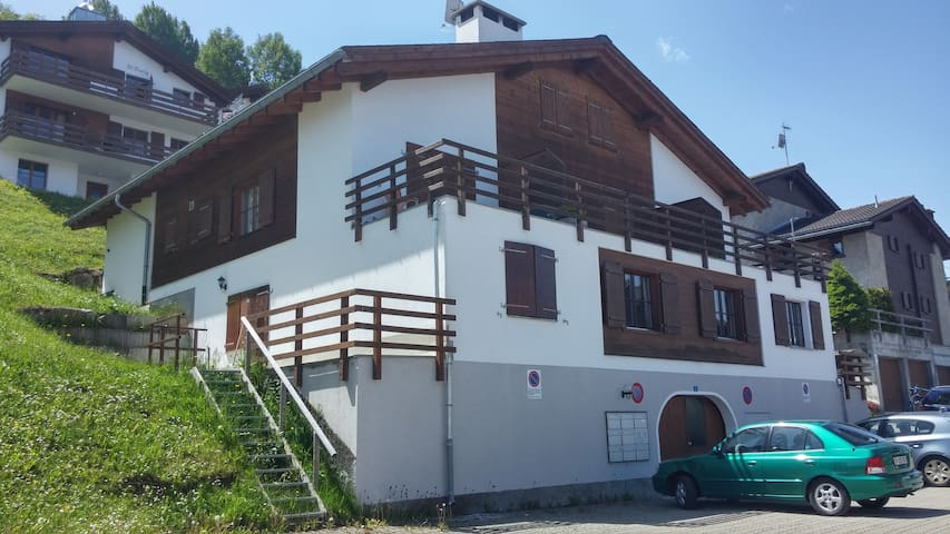 Spacious Apartment directly in skiing area