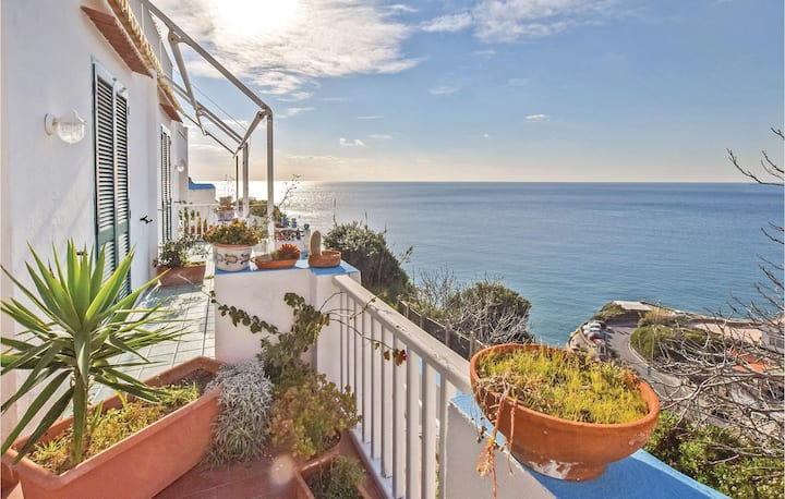 Awesome home in Sant´Angelo d´Ischia with WiFi and 1 Bedrooms