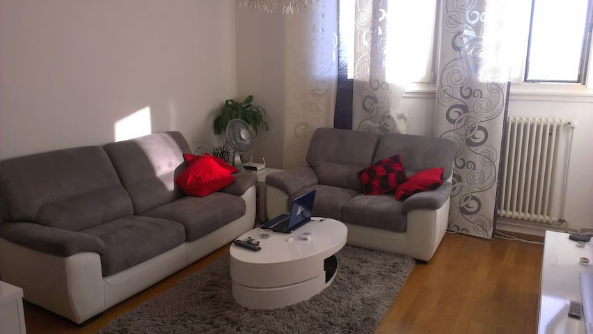 females only, 10min Geneva center - Geneva - Apartment