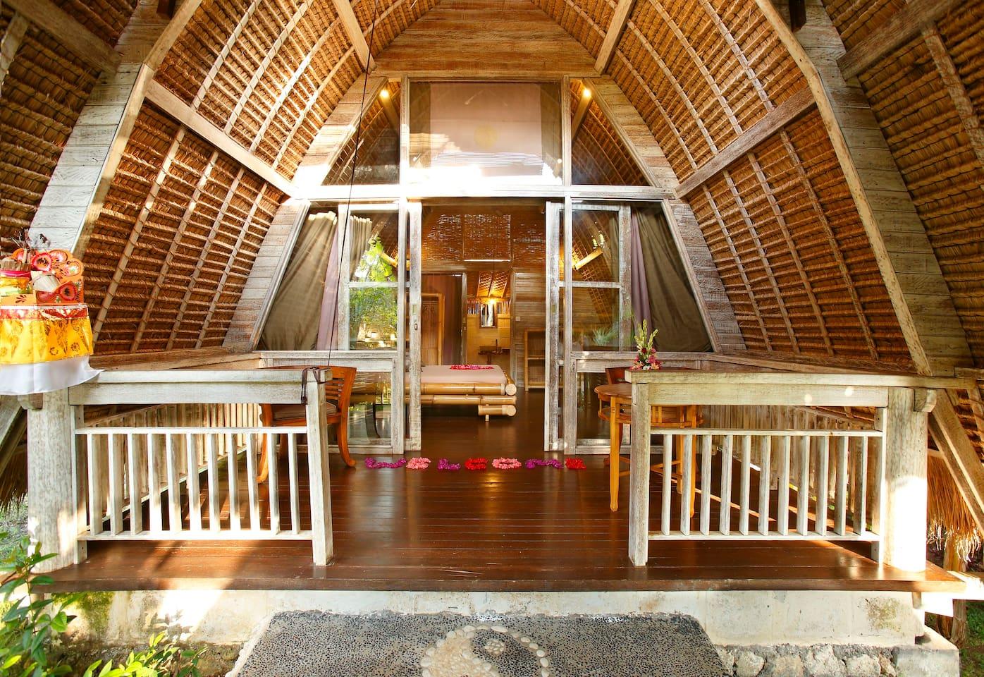 terrasse bungalow deluxe