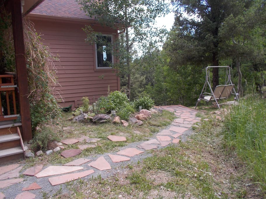 Charming Walkway to Private Entrance