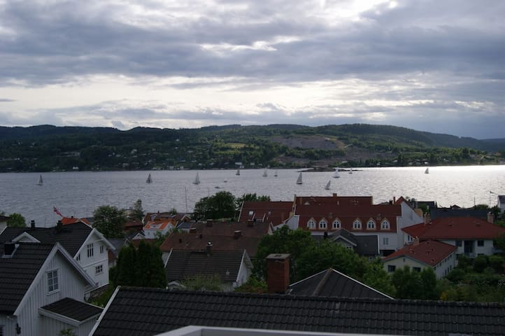 Lovely house, sea view in Drøbak - Drøbak - Huis