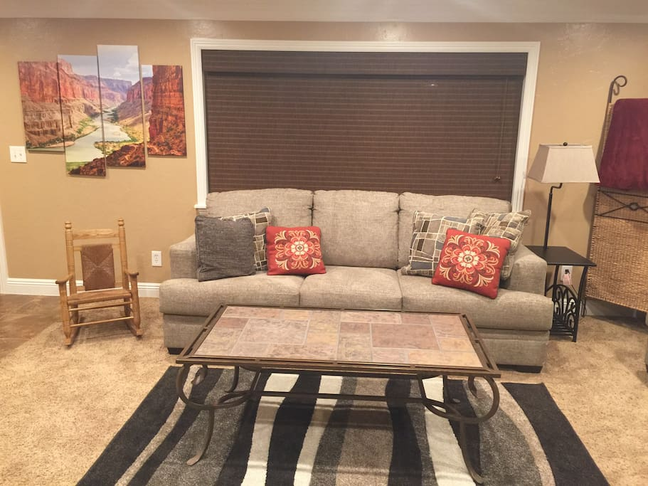 Living Room- Queen Sofa Bed