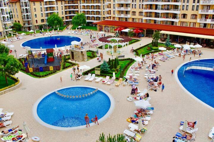 Royal Sun apartments  bestsellers in Sunny Beach!