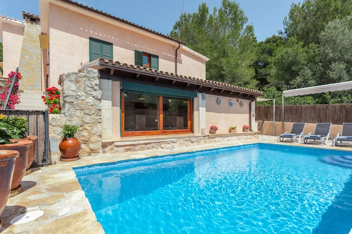 Villa with pool 2' from the beach - Mal Pas-Bon Aire - Hus